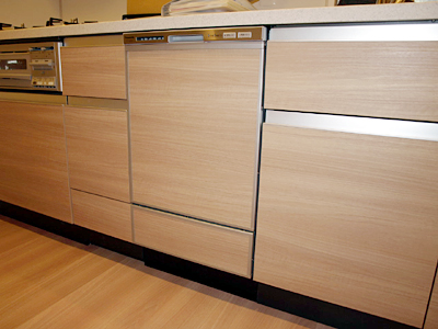 キッチン After 設置商品:パナソニック食洗機